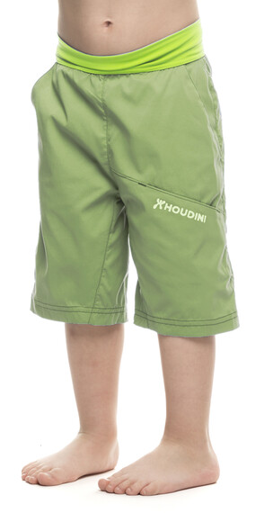 Houdini Kids Liquid Trail Shorts Clover Green